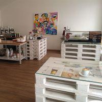 Мебель для кафе из поддонов МК56