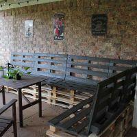 Мебель для дачи из паллет МС65