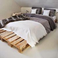 Кровать из паллет КРО22