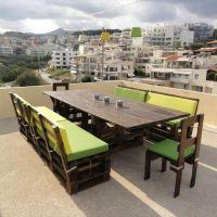 Мебель для кафе из паллет МК201