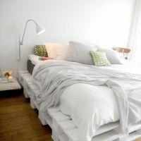 Кровать из паллет КРО38