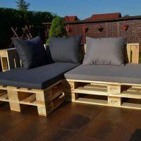 Мебель для дачи из паллет МС96