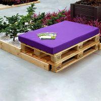 Мебель для сада из паллет МС89