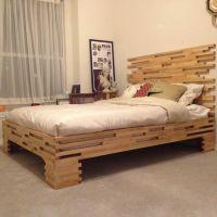 Кровать из паллет КРО34
