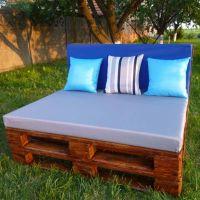 Мебель для дачи из паллет МС53