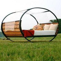 Кровать-качалка для дачи и сада МС94