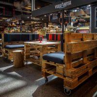 Мебель для кафе из паллет МК51