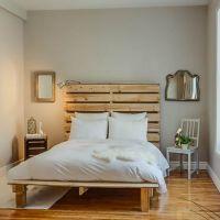 Кровать из поддонов КРО63
