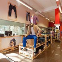 Мебель из паллет для магазина МК165