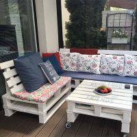 Мебель для сада из паллет МС66