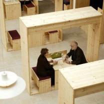 Мебель для кафе из поддонов МК98