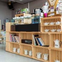 Мебель для кафе из поддонов МК82