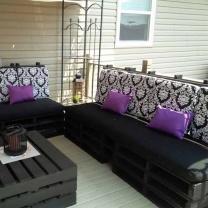 Мебель для кафе из паллет МК03
