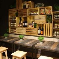 Мебель для кафе из поддонов МК70