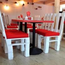 Мебель для кафе из паллет МК43