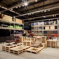Мебель для кафе из поддонов МК142