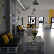 Мебель для кафе из поддонов МК40