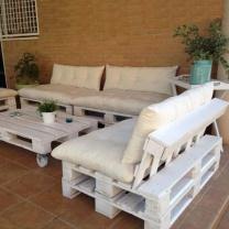 Мебель для кафе из паллет МК13