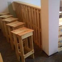 Мебель для кафе из паллет МК99