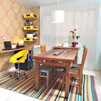 Письменный стол и стулья из паллет СТ42