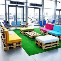 Мебель для кафе из паллет МК91