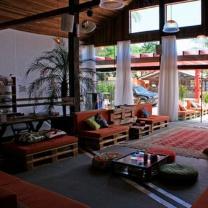 Мебель для кафе из паллет МК139