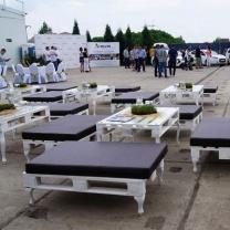 Мебель из паллет для массовых мероприятий МК204