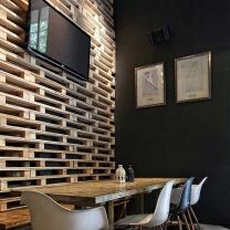 Мебель для кафе из поддонов МК104