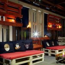 Мебель для кафе из паллет МК55