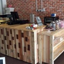 Мебель для кафе из паллет МК23