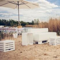 Деревянная мебель для мероприятий на открытом воздухе МК179