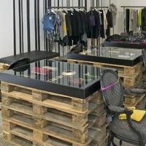 Мебель из паллет для магазина МК169