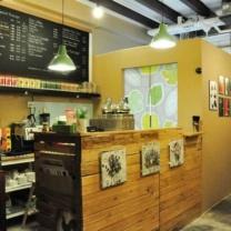 Мебель для кафе из поддонов МК12