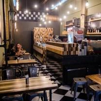 Мебель для кафе из поддонов МК78