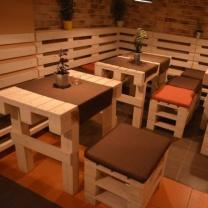 Набор мебели из паллет для ресторана МК211