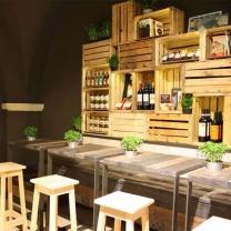 Мебель для кафе из поддонов МК150